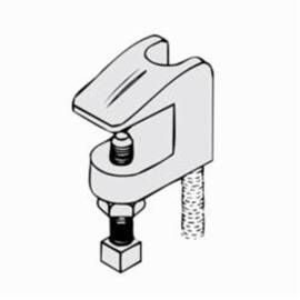 PHD 350 0050Pl Import Beam Clamp 1/2 In Rod 500 Lb Load