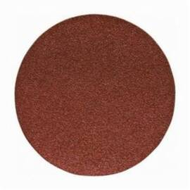 Porter-Cable® 725001025 Flexible Coated Abrasive Disc, 5 In Dia, No Hole, 100/Medium, Aluminum Oxide Abrasive, Psa