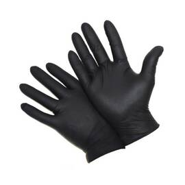 POSI-SHIELD 2920/M DISPOSABLE GLOVES, M, NITRILE, BLACK, 9.4 IN L, NON-POWDERED, TEXTURED, 5 MIL THK, APPLICATION TYPE: INDUSTRIAL GRADE, AMBIDEXTROUS HAND