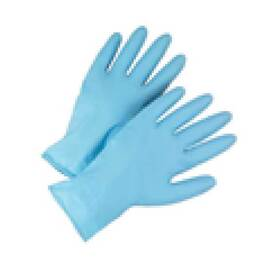 POSI-SHIELD 2950/XL DISPOSABLE GLOVES, XL, NITRILE, BLUE, 11-1/8 IN L, NON-POWDERED, TEXTURED, 8 MIL THK, APPLICATION TYPE: INDUSTRIAL GRADE, AMBIDEXTROUS HAND