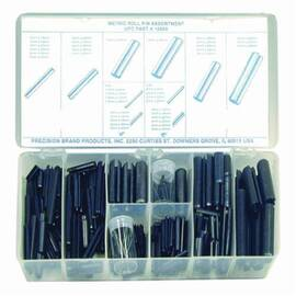 PRECISION BRAND® 12960 ROLL PIN ASSORTMENT, SPRING STEEL, PLAIN, 287 PIECES