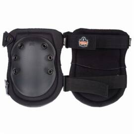Proflex® 18335 Non-Marring Cap Knee Pad, Universal, Nbr Foam, Buckle Closure, Black