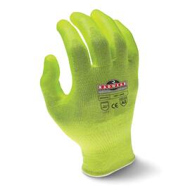 RADWEAR™ RWG531-XL SILVER SERIES™ RWG531 CUT RESISTANT GLOVES, XL, POLYURETHANE COATING, HPPE, ELASTIC SLIP-ON CUFF, RESISTS: ABRASION, CUT, PUNCTURE AND TEAR, ANSI CUT-RESISTANCE LEVEL: A2
