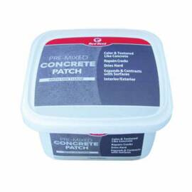 RED DEVIL® 0644SQ PRE-MIXED QUART SQUARE CONCRETE PATCH, 1 QT TUB, GRAY, >200 DEG F FLASH