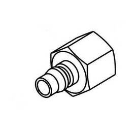 Reed Male Quick Connect, For Use With: EHTP500/EHTP500E and EHTP500C/EHTP500CE Electric Hydrostatic Pump, 1/2 in