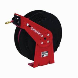 Reelcraft® Rt425-Olp Rt Series Lightweight Medium Duty Hose Reel, 25 Ft Hose, 300 Psi, 1/4 In Dia, Domestic