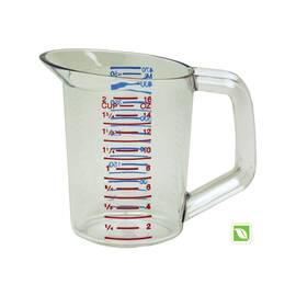 Rubbermaid® FG321500CLR 3215 Bouncer® Measuring Cup, 0.5 L