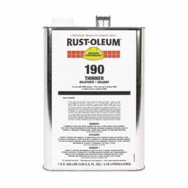 Rust-Oleum® 190402 Paint Thinner, 1 Gal Can, Liquid, 360 To 870 Sq-Ft/Gal