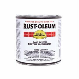 Rust-Oleum® 9402730 9400 System Polyester Urethane Accelerator, 1 Gal, Liquid, Clear Glass, 480 To 950 Sq-Ft/Gal