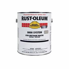 Rust-Oleum® 9800 System 2-Component High Solid Dtm Urethane Mastic Coating, Black