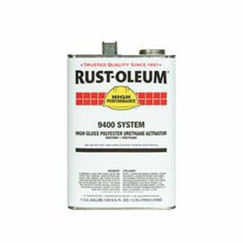 Rust-Oleum® Hs9401402 9400 System 2-Component Polyester Urethane Activator, 1 Gal, Liquid, 370 To 790 Sq-Ft/Gal