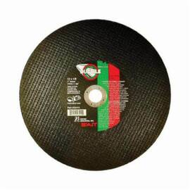 SAIT® Ductile™ 23458 Type 1 Burr Free Portable Saw Cut-Off Wheel, 14 In Dia X 1/8 In Thk, 20 mm, 24 Grit, Aluminum Oxide/Silicon Carbide Abrasive