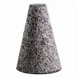 SAIT® 25104 Type 17 General Purpose Grinding Cone, 1-1/2 In Dia, 3 In L Head, 5/8-11, Squared Tip Cone Shape