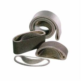SAIT® LA-X SAIT-Saver™ Coated Abrasive Belt, Portable Semi-Friable, 24 in Belt Length, 4 in Belt Width, 80 Grit, Fine Grade, Aluminum Oxide Abrasive, Cotton Backing, Closed Coat, Applicable Materials: Ordinary and Alloyed Steel, Cast Iron, Ferrous and
