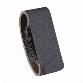 SAIT® Blue Line™ 1Ax 57905 Semi-Friable Abrasive Belt, 4 In W X 24 In L, 80/Medium, Aluminum Oxide Abrasive, X-Weight Cotton Backing