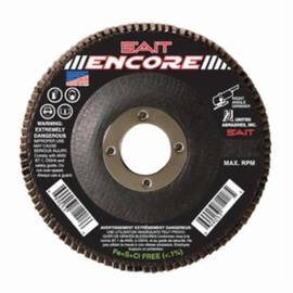 SAIT® 79125 Encore High Performance Coated Flap Disc, 5 In Dia, 7/8 In, 36/Extra Coarse, Zirconium Abrasive, Type 29/Conical