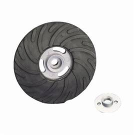 SAIT® Spiralcool™ 95018 Medium Density Backing Pad, 7 In Dia, 5/8-11, Disc Nut Attachment, Rubber