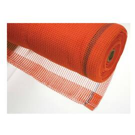 STRONG MAN SBN-22FR 4' DEBRIS NETTING, 48 IN W X 150 FT L, POLYETHYLENE, ORANGE, 1/4 IN MESH