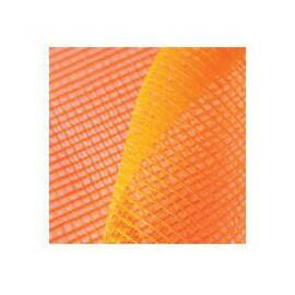 STRONG MAN SBN-427FR DEBRIS NETTING, 4 FT W X 150 FT L, PVC COATED POLYESTER, ORANGE, 5/32 IN MESH
