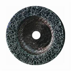 Sait-Strip™ 77230 Non-Woven Abrasive Disc, 4-1/2 In Dia, 7/8 In, Coarse, Silicon Carbide Abrasive, Type 27