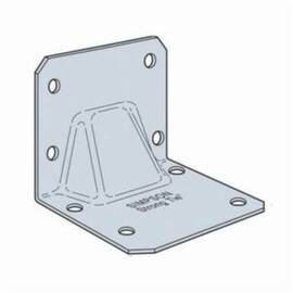 Simpson Strong-Tie® Gable Truss Bracket, 3-1/2 in Width, 3 in Height, 14 ga, Cold Formed Steel, Galvanized