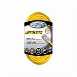 Southwire® Polar/Solar® 1488Sw0002 Type Sjeow Extension Cord, 125 Vac, (3) 14 Awg Copper Conductor, 50 Ft L