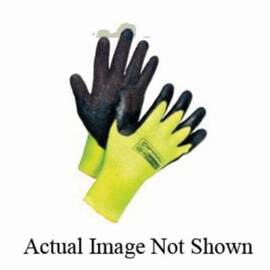 Sperian® By Honeywell 400 Tuff-Coat™ Medium Weight Coated Glove, Natural Rubber Palm, Brushed Acrylic Lining, Abrasion/Cut/Puncture Resistant, Black/Blue