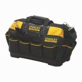 Stanley® Fatmax® Xtreme® 518150M Open Mouth Tool Bag, Polyester, Black/Yellow