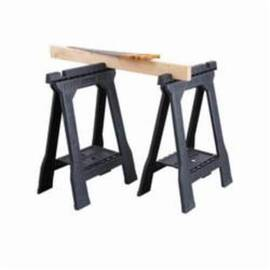 Stanley® Folding Sawhorse, Junior, 800 lb/Pair, 32 in Height, 5 in Width, Plastic