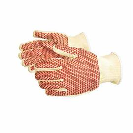 SURE GRIP® SKC/C2NBWM REVERSIBLE HOT MILL GLOVES, M, KEVLAR®/NITRILE, COTTON, KNIT WRIST CUFF, RESISTS: CUT, 392 DEG F MAX TEMPERATURE, ANSI HEAT LEVEL: 3