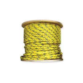 "Unicord Companies 1-3/4"" Twisted Polyproplyne Rope, Yellow"