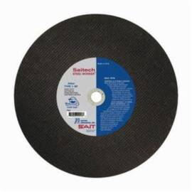 Ua® Saitech Steel Worker® 24053 Type 1 Cut-Off Wheel, 14 In Dia X 3/32 In Thk, 1 In, 36 Grit, Ceramic Abrasive