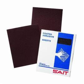 UA® 84918 Daf Sanding Sheet, 11 In L X 9 In W, 320/Extra Fine, Aluminum Oxide Abrasive, Cloth Backing