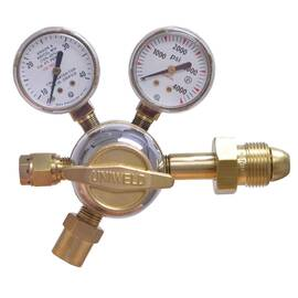 Kfg-14 Uniweld Argon Flowgauge Regulator W/10' Hose & Fittings