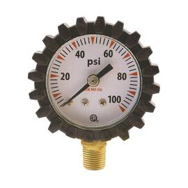 G21D Uniweld Acetylene Replacement Gauge (0-400 Psi)