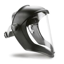 Uvex® By Honeywell S8510 Bionic® Faceshield Assembly, 3/64 In Thk, Clear, Polycarbonate Glass