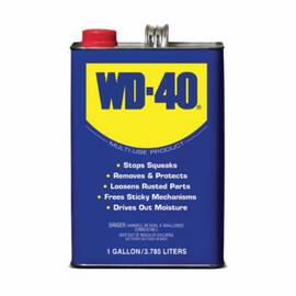 WD-40® 490118 Multi-Use Lubricant, 1 Gal Can, Liquid, Light Amber, 0.8