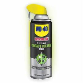 WD-40® Specialist® 300080 Electrical Contact Cleaner Spray, 11 oz Aerosol Can, Liquid, Clear Glass, Hydrocarbon