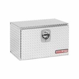Weather Guard® 631-0-02 Compact Short Underbed Box, 18 In H X 18 In W X 30-1/8 In D, 5.4 Cu-Ft, Clear