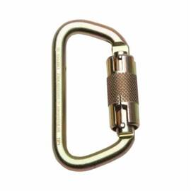 Werner® A100301 Connecting Hardware Carabiner, 1/2 In Gate Clearance, Steel