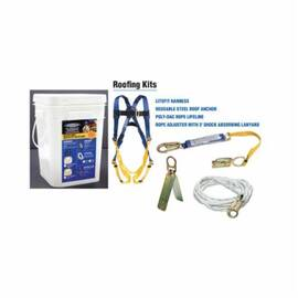 Werner® K111204 Roofing Kit, Poly-Dac Rope