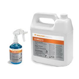 Walter 53-F 253 E-Weld 3™ High Temperature Anti-Spatter Solution, 1 Gal Trigger Spray Bottle, Liquid, Blue