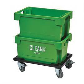 Walter Surface Technologies Benchtop Dip Tank, Series: CLEANBOX®, 5.3 gal, 11.8 in Height, 15.7 in Width, Green