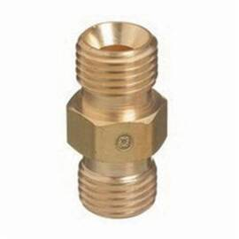 Western Enterprises® 312-30 Straight Hose Coupler, Sz B Pipe, Male Hose, Brass
