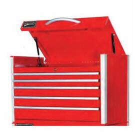 Williams® Top Chest, Series: Heavy-Industrial, 35 in Width, 18-3/4 in D, 22-3/4 in Height, (2) 2 in H x 31 in W x 16 in D, (2) 3 in H x 31 in W x 16 in D, 4-1/4 in H x 31 in W x 16 in D Drawer, 5 Drawers, 4 Casters, 6 x 2 in Caster, 8350 cu-in, Side Hand