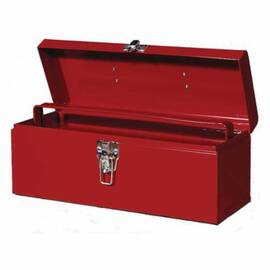 Williams® Tb-6116 Flat Top Toolbox With Tray, 6-1/2 In H X 16 In W X 6 In D, Steel