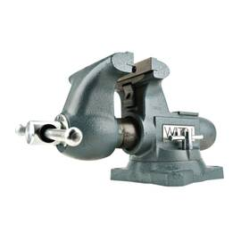 Wilton® 63200 Tradesman Bench Vise, Standard Serrated Jaw, 5 In Jaw Opening, 5-1/2 In W Ductile Iron Jaw, 3-3/4 In D Throat