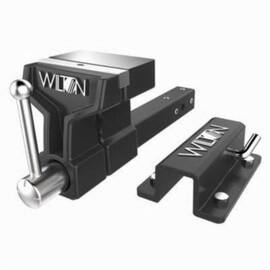 Wilton® 10010 Lightweight All-Terrain Vise, 21-1/2 In L X 8-1/2 In H, 5-7/5 In Jaw, 1 Ton, Ductile Iron
