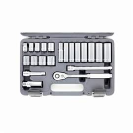 Wright® A34 Socket Set, 21 Pieces