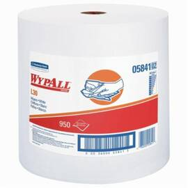 Wypall* 05841 L30 Exceptional Performance General Purpose Wiper, 950 Sheets, 13.3 X 12.4 In, Double Re-Creped, White